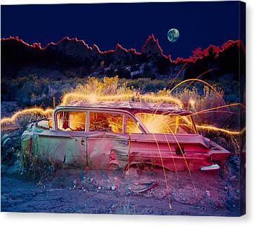 Break Down Canvas Print by Garry Gay