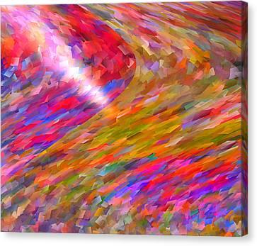 Break Through Canvas Print by Michael Durst