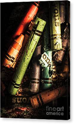 Breakdown Of Color Canvas Print by Jorgo Photography - Wall Art Gallery