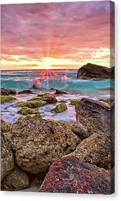 Breaking Dawn Canvas Print by Marcia Colelli