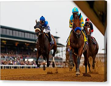 Breeder's Cup 1 Canvas Print by Lone Dakota Photography