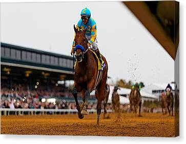 Breeder's Cup 2 Canvas Print by Lone Dakota Photography