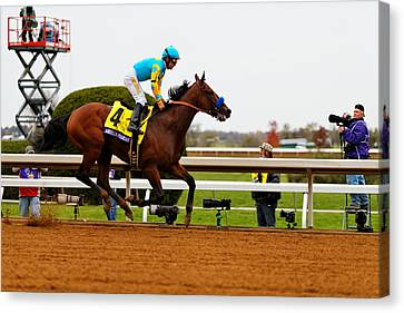 Breeder's Cup 4 Canvas Print by Lone Dakota Photography