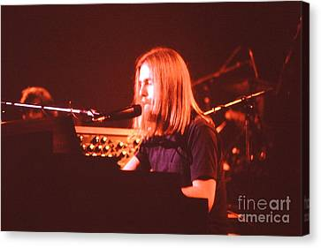 Music- Concert - Grateful Dead - Brent Mydland  Canvas Print by Susan Carella