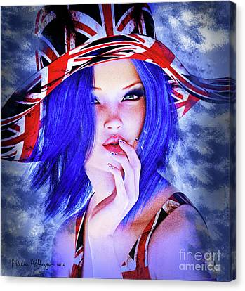 Brexit Canvas Print by Alicia Hollinger