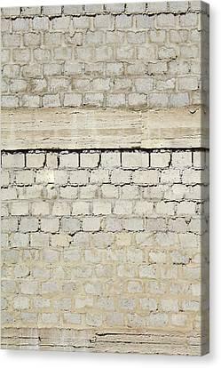 Brick Blocks Canvas Print by Sandy