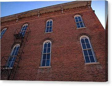 Brick Face Canvas Print by Ross Powell