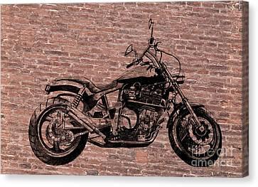 Brick Splitter Canvas Print by Stephen Brooks