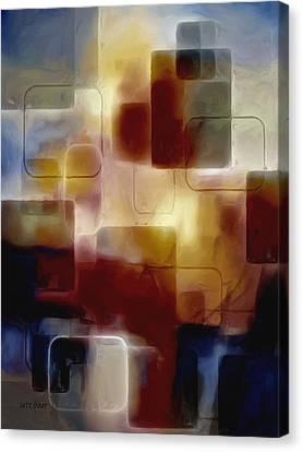 Bricks Of Destiny Canvas Print by Lutz Baar