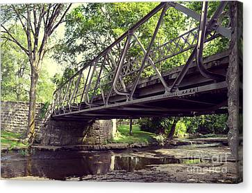 Bridge Canvas Print by Julian Gandolfo