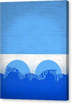 Bridge Over Troubled Water Canvas Print by Carl Scallop