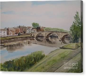 Bridge To Bewdley Canvas Print by Martin Howard
