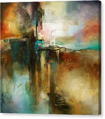 'bridge To Eternity' Canvas Print by Michael Lang