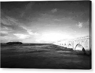 Bridge To Far IIi Canvas Print by Jon Glaser