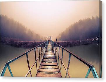 Bridge To Infinity Canvas Print by Okan YILMAZ