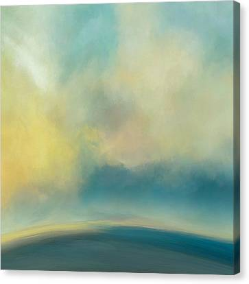 Bright Horizon Canvas Print by Lonnie Christopher