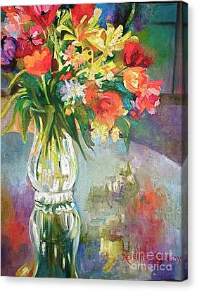 Bright Reflections Canvas Print by Reveille Kennedy