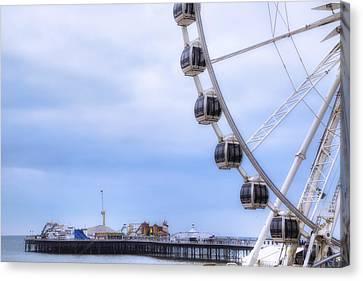 Brighton Pier Canvas Print by Joana Kruse