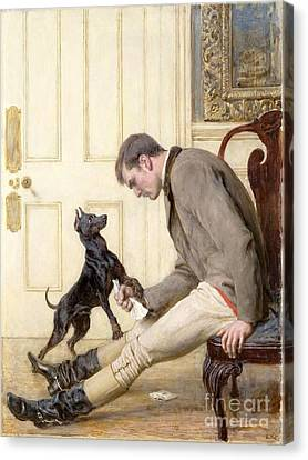 Jilted Canvas Print by Briton Riviere