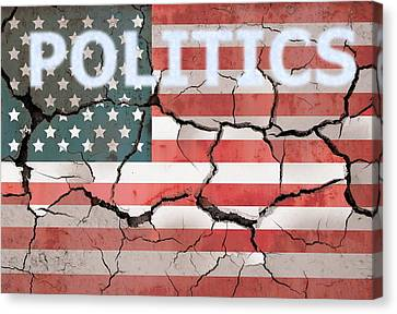 Broken Country Canvas Print by Dan Sproul