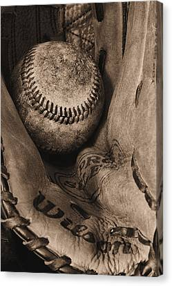 Broken In Bw Canvas Print by JC Findley