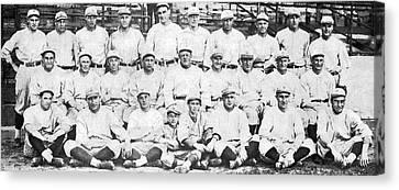 Brooklyn Dodger Champions Canvas Print by Underwood & Underwood