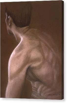 Brown Iv Canvas Print by John Clum