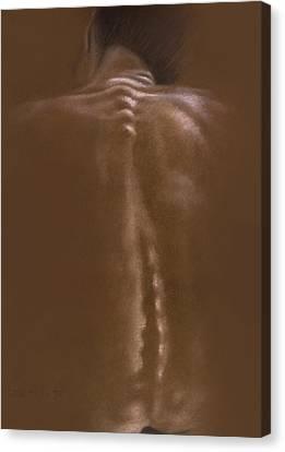 Brown Series IIi Canvas Print by John Clum