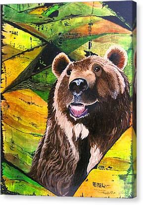 Brownie Canvas Print by David Raderstorf