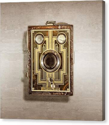 Brownie Six-20 Front Canvas Print by YoPedro