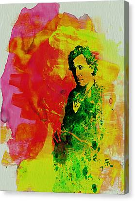 Bruce Springsteen Canvas Print by Naxart Studio