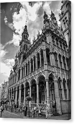 Brussels City Museum Canvas Print by Georgia Fowler