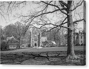 Bryn Mawr College Campus Center Canvas Print by University Icons
