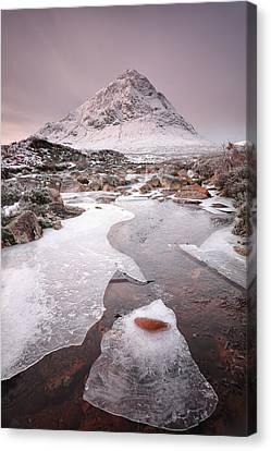 Buachaille Etive Mor Winter Canvas Print by Grant Glendinning
