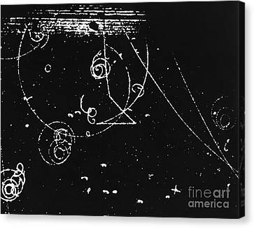 Bubble Chamber Canvas Print by Rad. Lab./Omikron