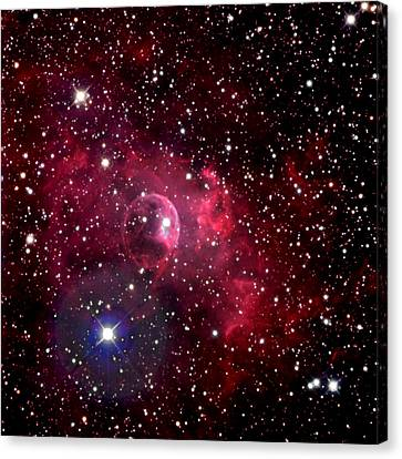 Bubble Nebula Canvas Print by Jim DeLillo