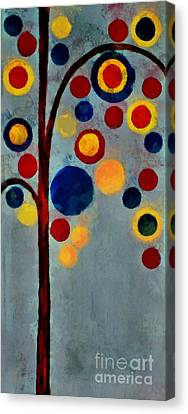 Bubble Tree - Dps02c02f - Right Canvas Print by Variance Collections