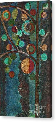 Bubble Tree - Spc02bt05 - Left Canvas Print by Variance Collections