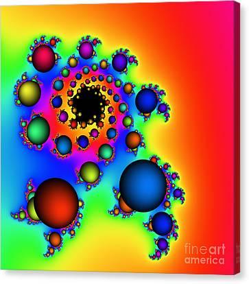 Bubbles Three Canvas Print by Rolf Bertram
