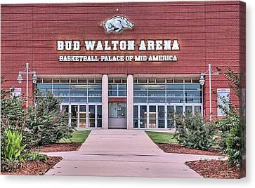 Bud Walton Arena Canvas Print by JC Findley
