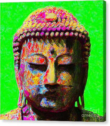 Buddha 20130130m100 Canvas Print by Wingsdomain Art and Photography