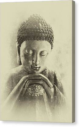Buddha Dream Canvas Print by Madeleine Forsberg
