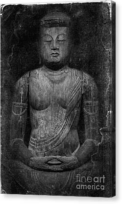 Buddha Canvas Print by Edward Fielding