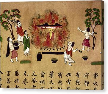 Buddha Canvas Print by Granger