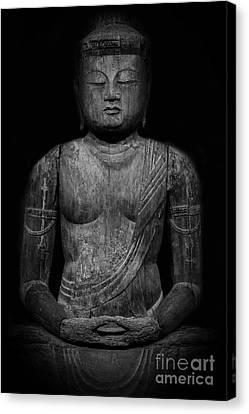 Buddha Mahavairocana Canvas Print by Edward Fielding