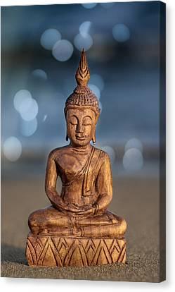 Buddha  Canvas Print by Stelios Kleanthous