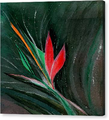 Budding Canvas Print by Anil Nene