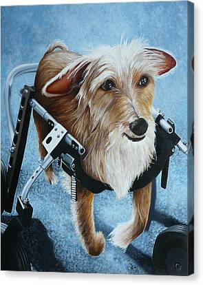Buddy's Hope Canvas Print by Vic Ritchey
