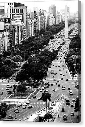Buenos Aires Canvas Print by Osvaldo Hamer