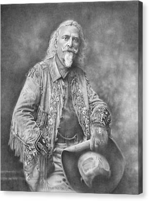 Buffalo Bill Canvas Print by Steven Paul Carlson